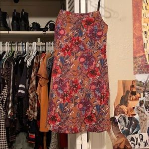 Urban Outfitters multi colored dress
